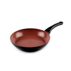 Domo Terracotta deep frying pan 28cm