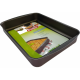 Pyrex Kebbe Rectangular Dish, Metal, 41 x 30 cm